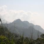 Blick auf die Berge von Ella - Ein begehrtes Ziel für Trekking Touren