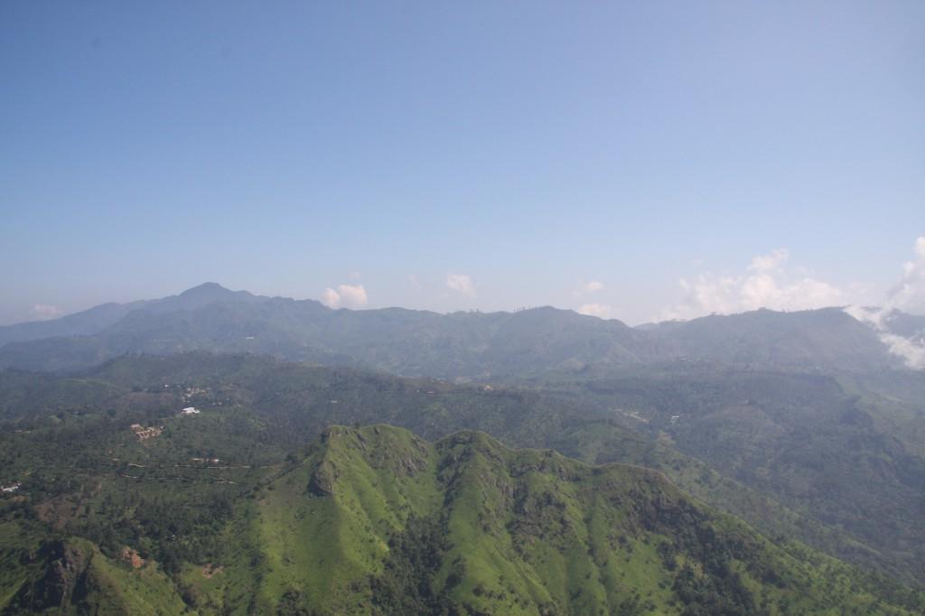 Blick von Ellas Rock in das Tal