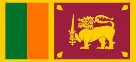 Die Flagge von Sri Lanka