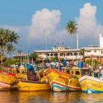 Der Hafen von Bentota