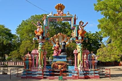 Auf der Insel Nainativu, welche Jaffna vorgelagert ist