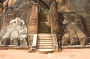 Das Löwentor von Sigiriya