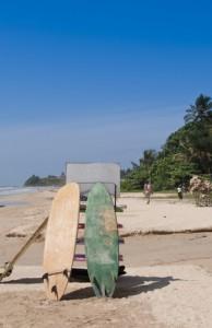 Surfen ist auf Sri Lanka sehr populär