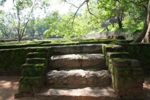 Treppen zu den Gartenanlagen von Sigiriya