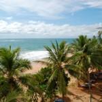 Der Strand von Bentota auf Sri Lanka