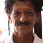 Mann aus Kandy in Sri Lanka
