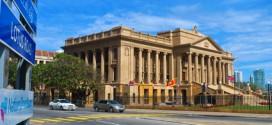 Gebäude des Präsidenten von Sri Lanka in Colombo