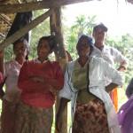 Arbeiterinnen in Sri Lanka bei einer Pause