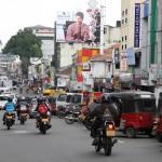 Straßenszene in Sri Lanka