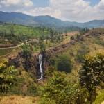 Wasserfall im Gebiet von Hortons Plain
